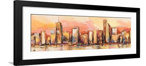 Metropolis I-Luigi Florio-Framed Art Print