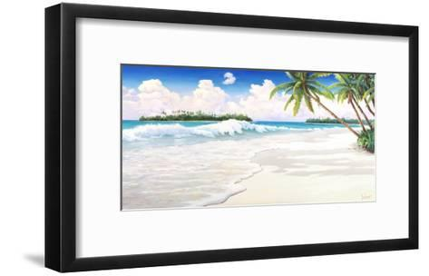 Onda Tropicale-Adriano Galasso-Framed Art Print