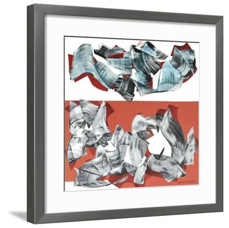 2009, Giovedi 11 Giugno-Nino Mustica-Framed Art Print