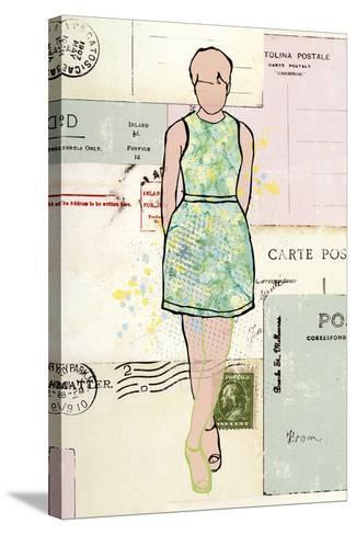 Carte de la Mode III-Clara Wells-Stretched Canvas Print