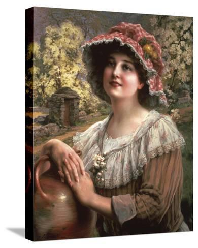 Country Spring-Emile Vernon-Stretched Canvas Print
