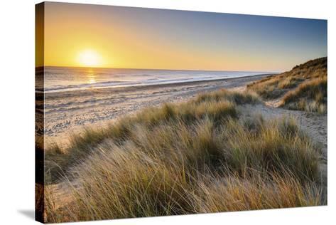 East Coast Sunrise-Steve Docwra-Stretched Canvas Print