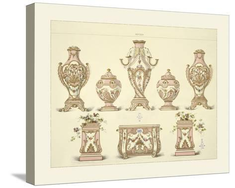 Vases and Jardinieres- Sevres-Stretched Canvas Print