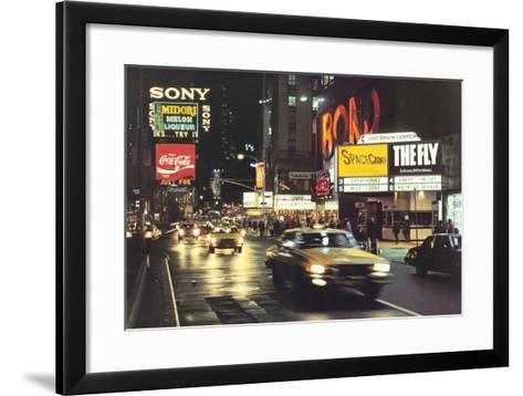 Criterion Center-Davis Cone-Framed Art Print