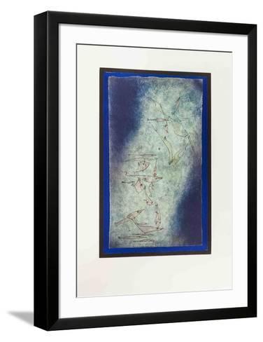 Fischbild-Paul Klee-Framed Art Print