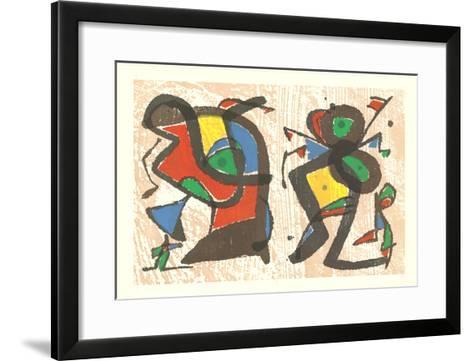 From Ceramics-Joan Mir?-Framed Art Print