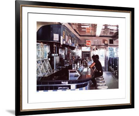 Blue Diner-Ralph Goings-Framed Art Print