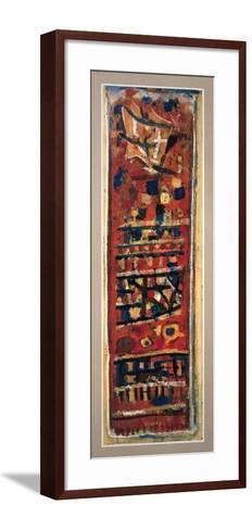 Rouge, Noir et Orange-Roger Bissiere-Framed Art Print