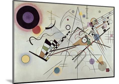 Composition no.8, 1923-Wassily Kandinsky-Mounted Art Print