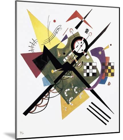 Study for On White II, 1922-Wassily Kandinsky-Mounted Art Print