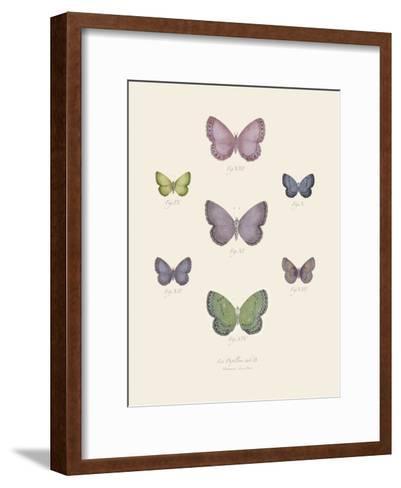 Collection de Papillons II-Maria Mendez-Framed Art Print