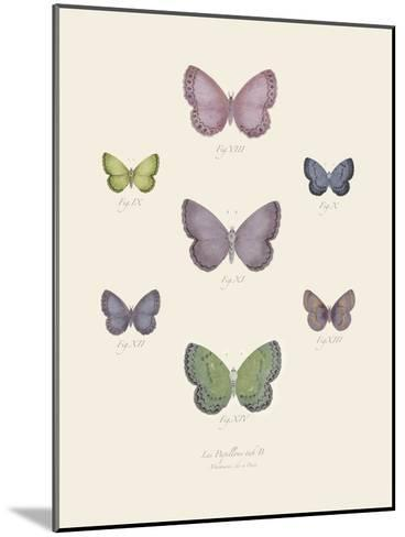 Collection de Papillons II-Maria Mendez-Mounted Art Print
