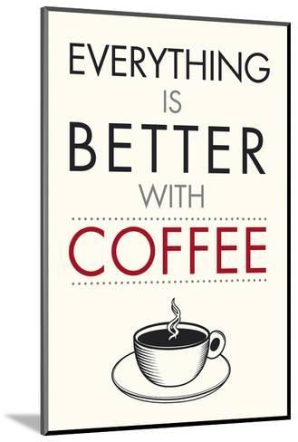 Coffee Time-Tom Frazier-Mounted Art Print
