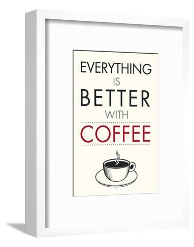 Coffee Time-Tom Frazier-Framed Art Print