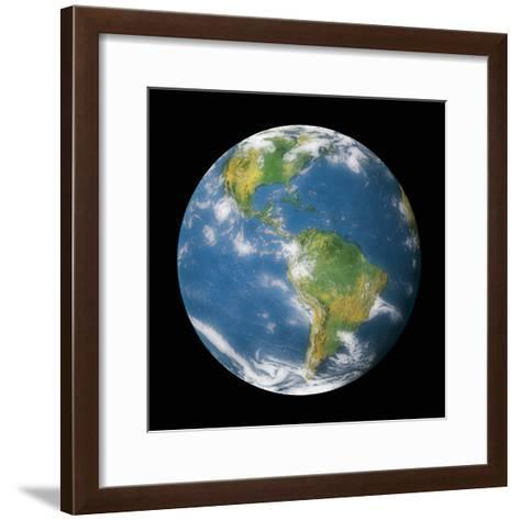 Globe II-Contemporary Photography-Framed Art Print