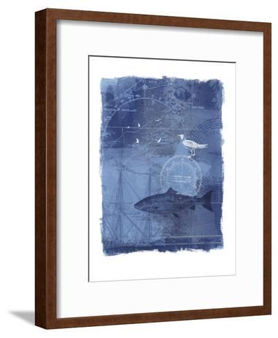 Cyanotype II-Ken Hurd-Framed Art Print