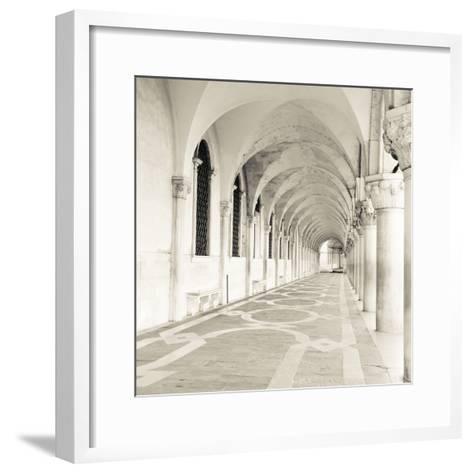 The Piazza II-Joseph Eta-Framed Art Print