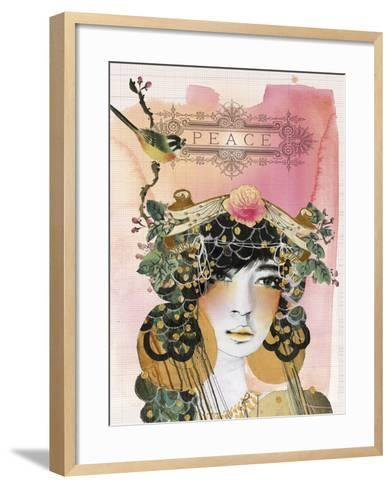 Peace-Anahata Katkin-Framed Art Print