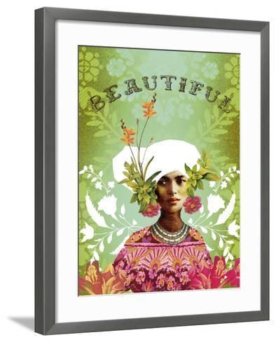 Beautiful-Anahata Katkin-Framed Art Print