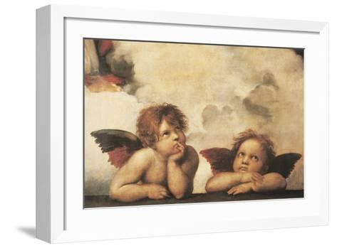 Cherubs-Raphael-Framed Art Print