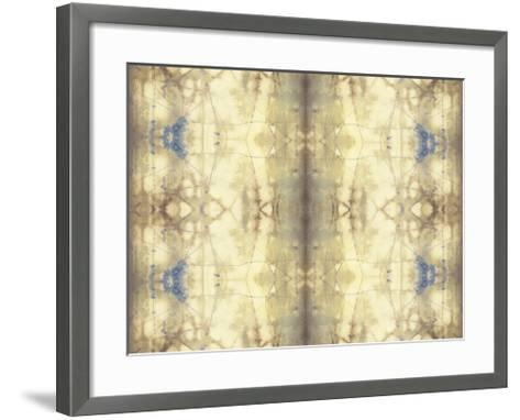 Mirrored Abstraction I-Jennifer Goldberger-Framed Art Print