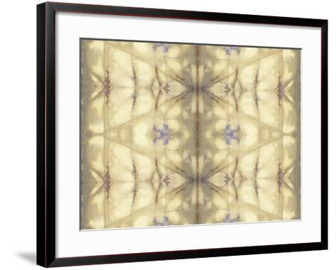 Mirrored Abstraction II-Jennifer Goldberger-Framed Art Print