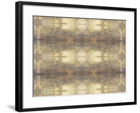 Mirrored Abstraction III-Jennifer Goldberger-Framed Art Print