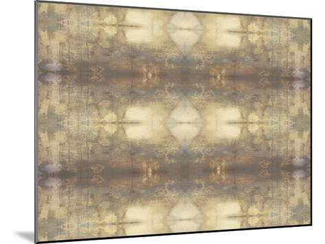 Mirrored Abstraction III-Jennifer Goldberger-Mounted Limited Edition