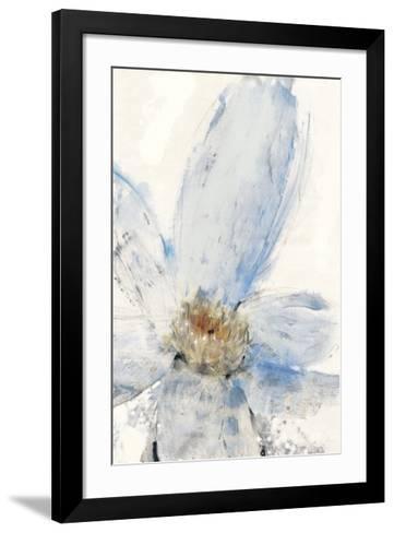 Floral Blue I-Tim O'toole-Framed Art Print