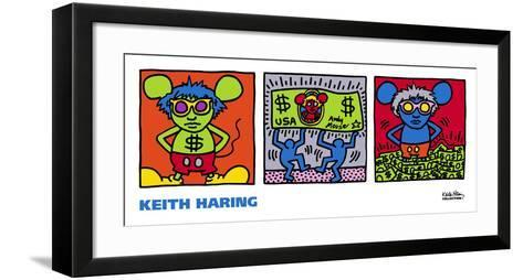 Andy Mouse, 1986-Keith Haring-Framed Art Print