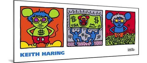 Andy Mouse, 1986-Keith Haring-Mounted Art Print
