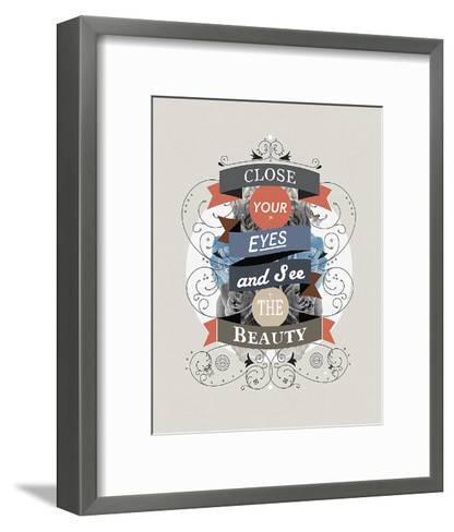 The Beauty-Kavan & Company-Framed Art Print