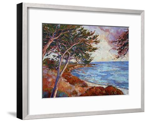 Monterey Cypress-Erin Hanson-Framed Art Print