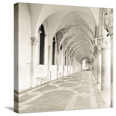 The Piazza II-Joseph Eta-Stretched Canvas Print