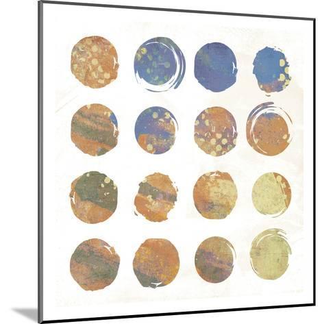 Circle Abstract 2-Jace Grey-Mounted Art Print