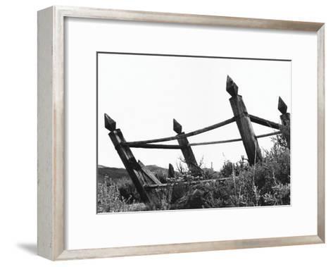 The Bodi Fence-Albert Koetsier-Framed Art Print
