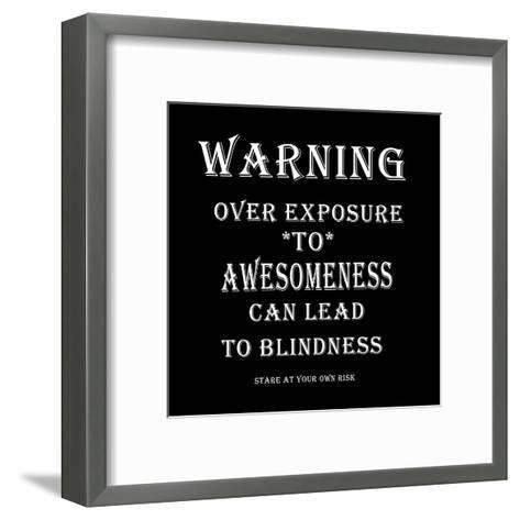 Awesome-Sheldon Lewis-Framed Art Print