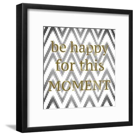 Be Happy-Taylor Greene-Framed Art Print