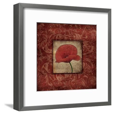 Poppie-Jace Grey-Framed Art Print