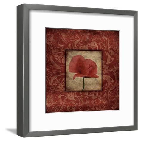 Poppie II-Jace Grey-Framed Art Print