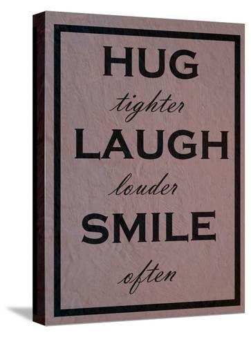 Hug-Sheldon Lewis-Stretched Canvas Print