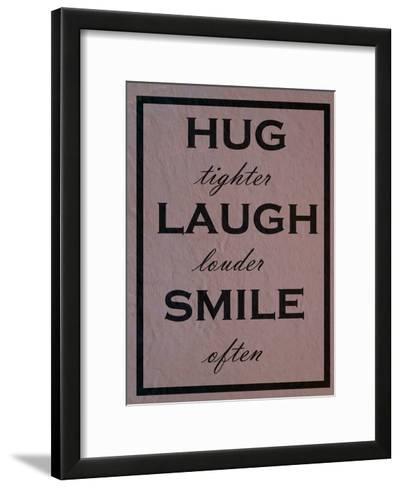 Hug-Sheldon Lewis-Framed Art Print