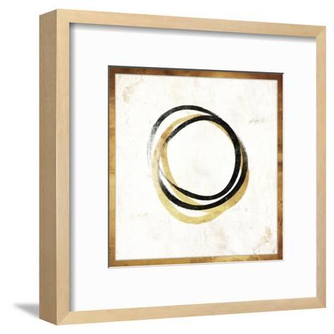 Gold Abstract II-Jace Grey-Framed Art Print