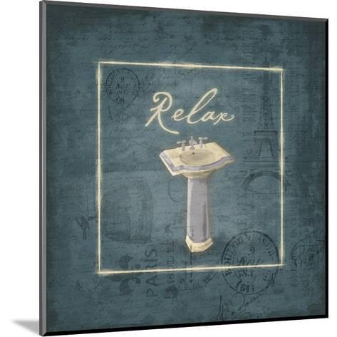 Relax-Jace Grey-Mounted Art Print