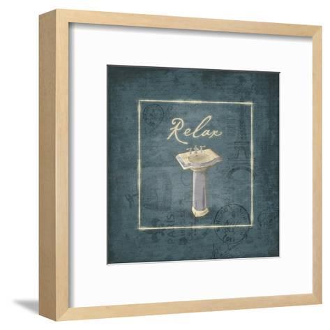 Relax-Jace Grey-Framed Art Print