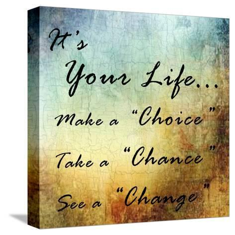 Live Your Life-Sheldon Lewis-Stretched Canvas Print