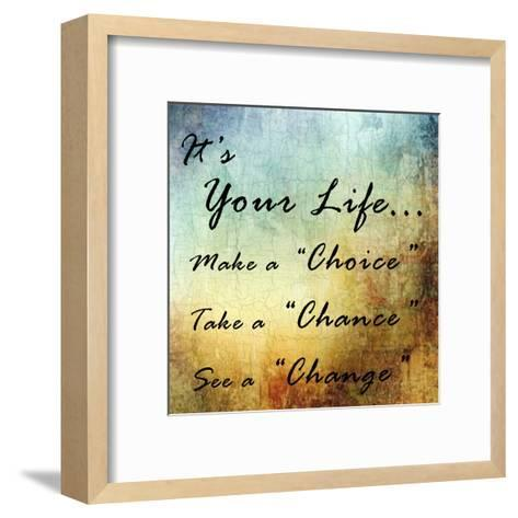 Live Your Life-Sheldon Lewis-Framed Art Print