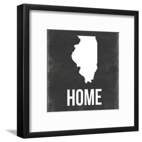 Illinois-Jace Grey-Framed Art Print
