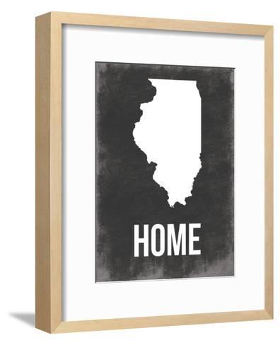 Illinois Home-Jace Grey-Framed Art Print