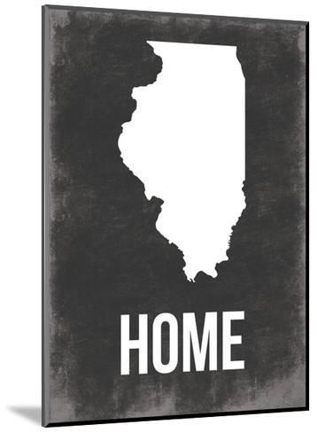 Illinois Home-Jace Grey-Mounted Art Print